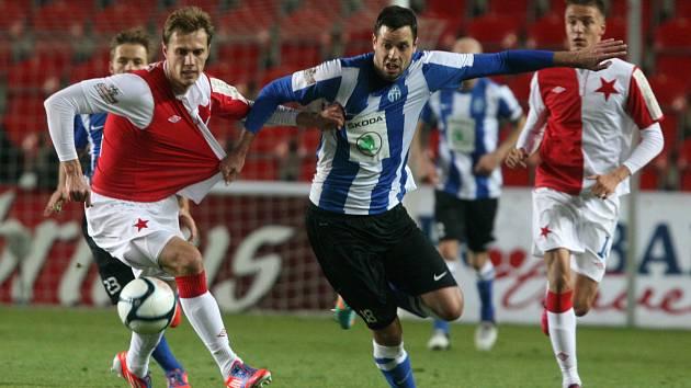 Remízou 1:1 skončil nedělní večerní duel mezi Slavií a Mladou Boleslaví.