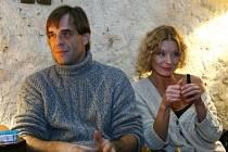 DOMÁCÍ PROSTŘEDÍ. Vilma Cibulková i Miroslav Etzler jsou kmenovými herci divadla Ungelt.