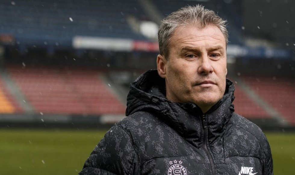 Nový trenér Sparty Pavel Hapal.