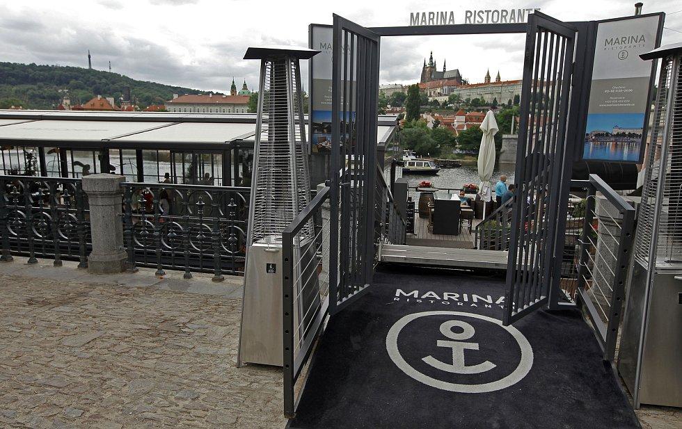 MARINA RISTORANTE na Praze 1.