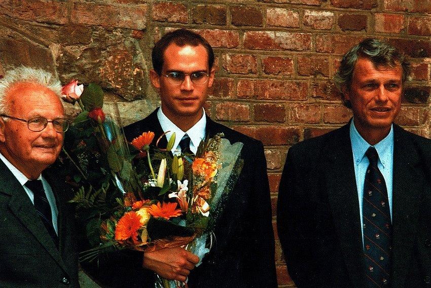 Tři generace Vladimírů Benešů.
