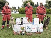 Pražští strážníci se svými psy vyhráli třikrát prvenství