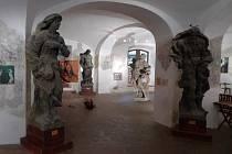 Výstavní prostor Galerie Lapidárium. Ilustrační foto.