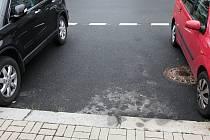 Volné parkovací místo.