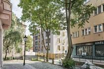 Developerská firma V Invest vybrala novou podobu projektu bytového domu U Milosrdných v těsném sousedství Anežského kláštera.