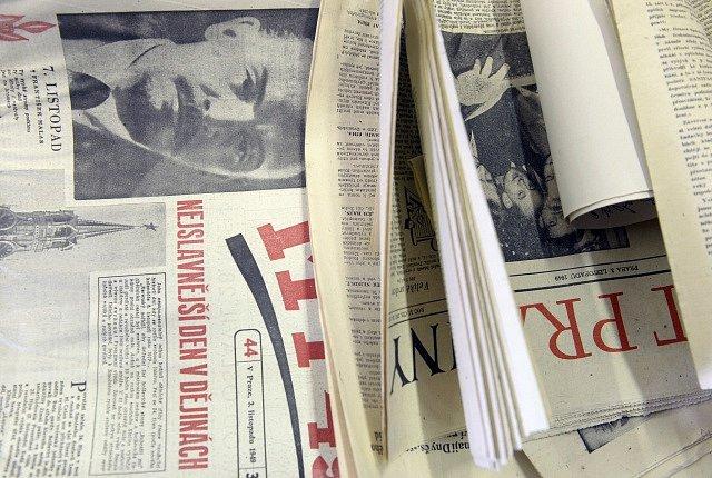 Schránky nalezené při opravách Staroměstské radnice.