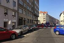 Na poště v Kafkově ulici byl nalezen podezřelý balíček.