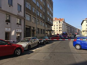 Na poště v Kafkově ulici byl nalezen podezřelý balíček