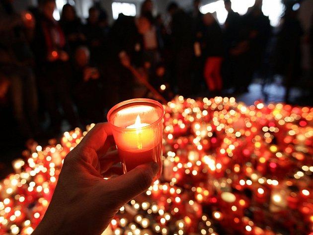 Výročí Sametové revoluce vPraze 17.listopadu