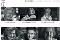 Některé z žen, jejichž příběhy představuje projekt České stříbro.