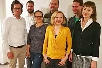 Pražská organizace Strany zelených si zvolila nové vedení. V čele budou Vít Masare (vlevo) a Ivana Milek Brodská (vedle něj).