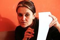 Jaroslava Mandausová, autorka petice proti demolici činžáku, který má ustoupit projektu Novomlýnské brány.