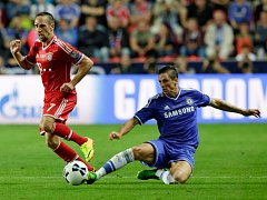 Super cup. Bayern vs Chelsea.