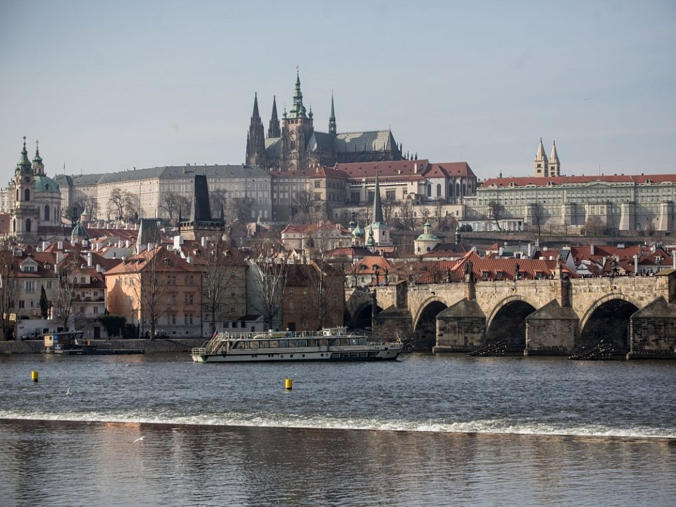 Panorama Prahy. Ilustrační foto.