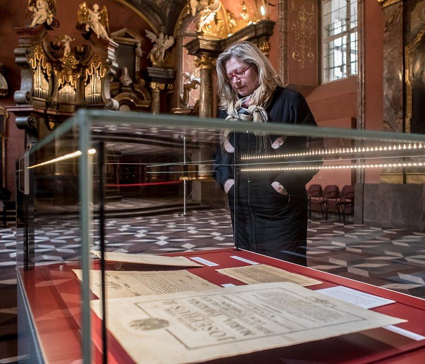 Výstava To se Marii Terezii povedlo začala v pražském Klementinu