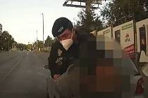 Řidič pod vlivem marihuany v ulici K Žižkovu.
