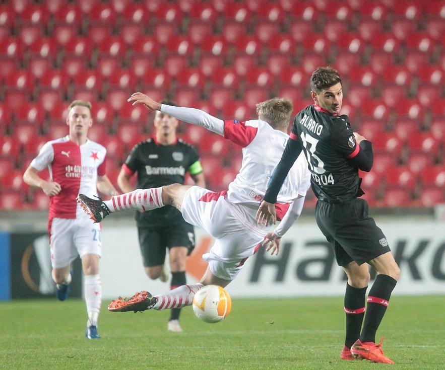 Evropská liga: Slavia - Leverkusen