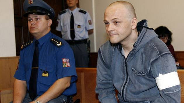 CHLADNOKREVNĚ. Roman Majerník včera zřejmě výčitkami svědomí netrpěl.