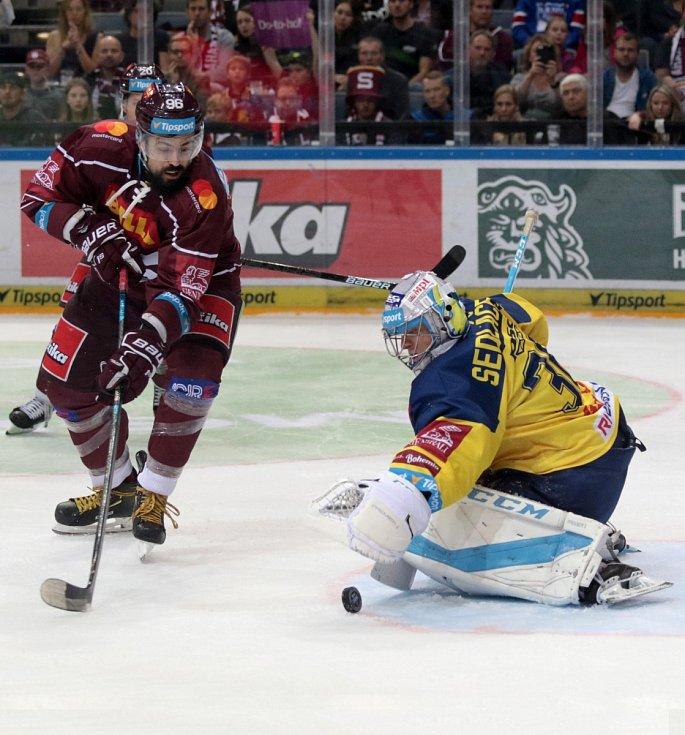 Hokejisté Sparty podlehli Zlínu vysoko 1:5.