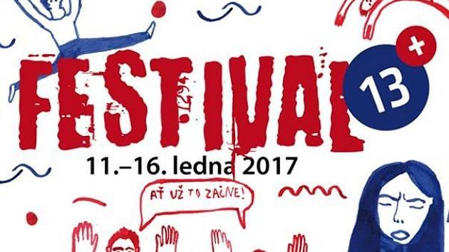 Plakát Festivalu 13+.