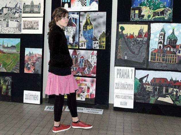 SALON ZUŠ PRAHA,prezentace výtvarného oboru, ukázka prací žáků 50 pedagogů a 17 ZUŠ v Praze.