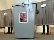 Volby do Poslanecké sněmovny 25. října – ZŠ Vodičkova, Praha 1.