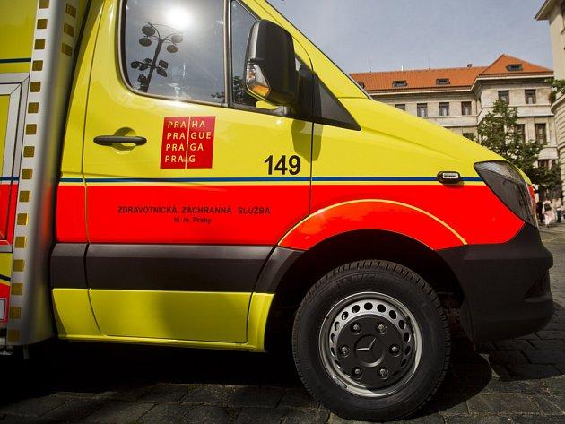 Zdravotní záchranná služba. Ilustrační foto.
