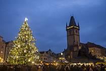 Vánoční trhy v Praze. Ilustrační foto.