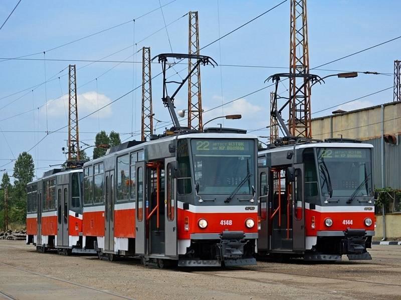 Tramvaj T6A5.