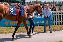 Filip Minařík se v Chuchle Areně představil už v červnu při Českém derby.