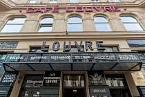 Kavárna Café Louvre na Národní třídě.