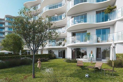 Na bytovém komplexu Rezidence Sky Barrandov se podílela architektka Eva Jiřičná.