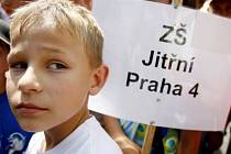 I demonstrace 14. června 2007 zřejmě přispěla k tomu, že se školy Jitřní a Filosofská spojí jen formálně.