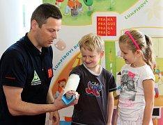 Prevence dětem v Mateřské škole Peroutkova za účasti primátora Tomáše Hudečka
