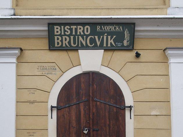 Bistro Bruncvík na Kampě.