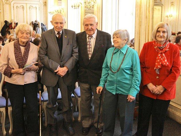 Oslava seniorů v Pálffyho paláci.