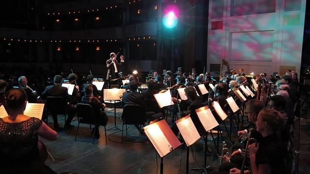 Český národní symfonický orchestr. Ilustrační foto.