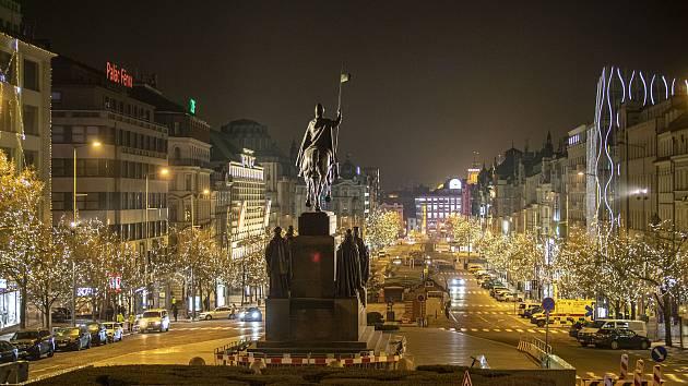 Václavské náměstí v Praze. Ilustrační foto.