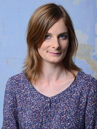 Herečka Andrea Buršová.