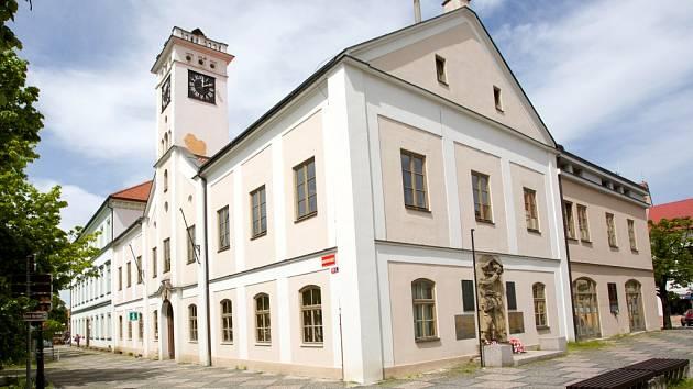 Turistické informační centrum v Říčanech.
