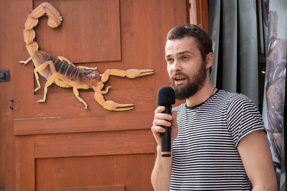 V Zoo Praha zahájili výstavu Štíři.