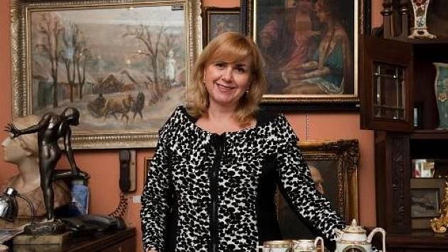 Předsedkyně Asociace starožitníků Simona Šustková