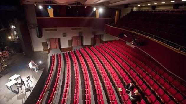 Divadelní hlediště. ilustrační foto.