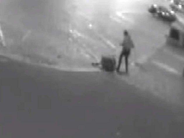 Incident na Senovážném náměstí.