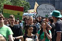 Pochod Million Marihuana March.
