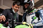 Oliver König si před závody v Jerezu brousí zuby na dobré umístění.