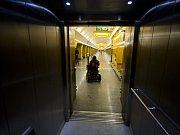 Bezbariérová stanice metra.