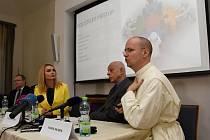 Tisková konference k duchovní péči v českých nemocnicích.
