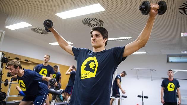 Jan Charvát během letní přípravy.