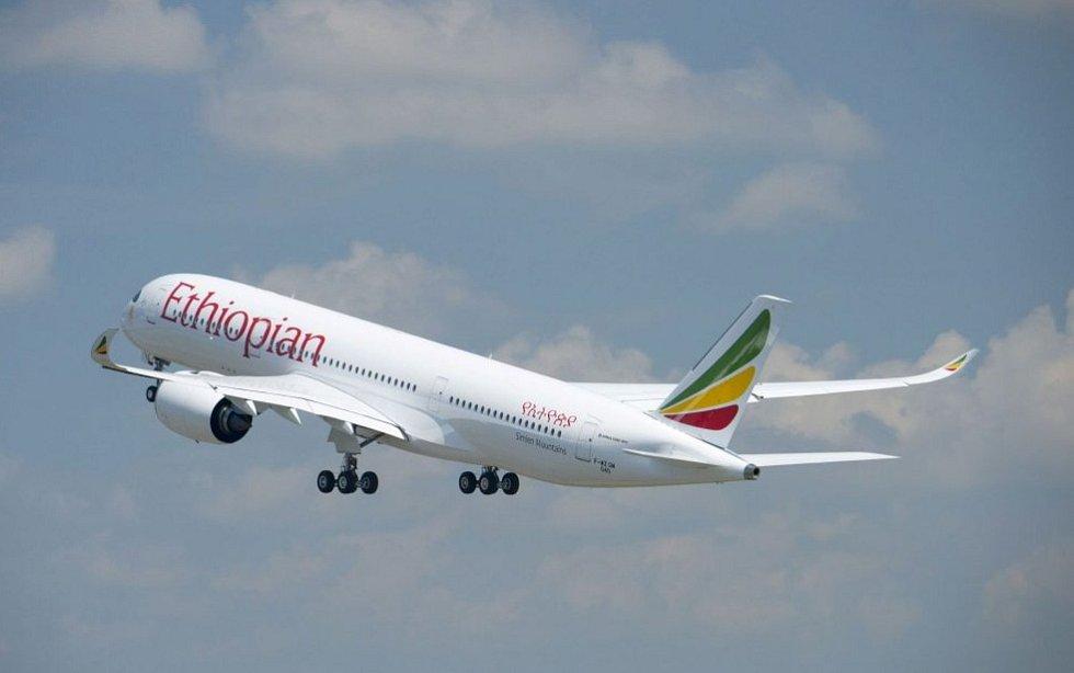 Airbus A350-900 společnosti Ethiopian Airlines